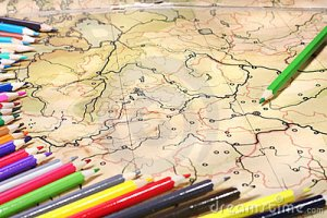 color-pencils-old-map-13729500